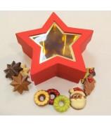 500 gr Kerst chocolade UTZ & Fairtrade gecertificeerd