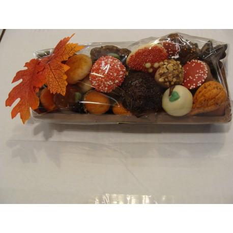 Chocolade Boomstam 460 gram met Herfstchocolade