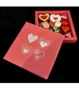 Love Box Pink 250 gr Handgemaakte Bonbons