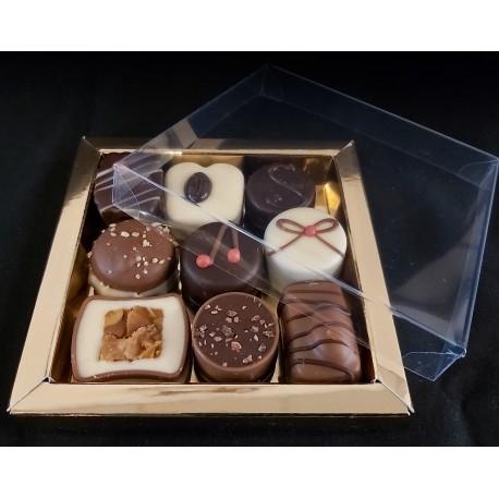 Relatiegeschenk 190 gr handgemaakte fairtrade bonbons